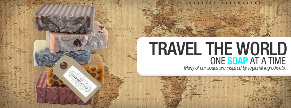 Travel the World - One Soap at a Time
